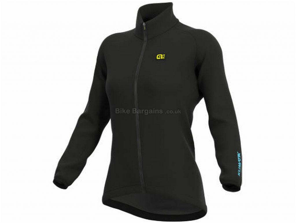 Ale Ladies Klimatik Racing Jacket M,XXL, Black, Close Fit, Breathable, Long Sleeve, Ladies, Polyester, Polyamide, Elastane