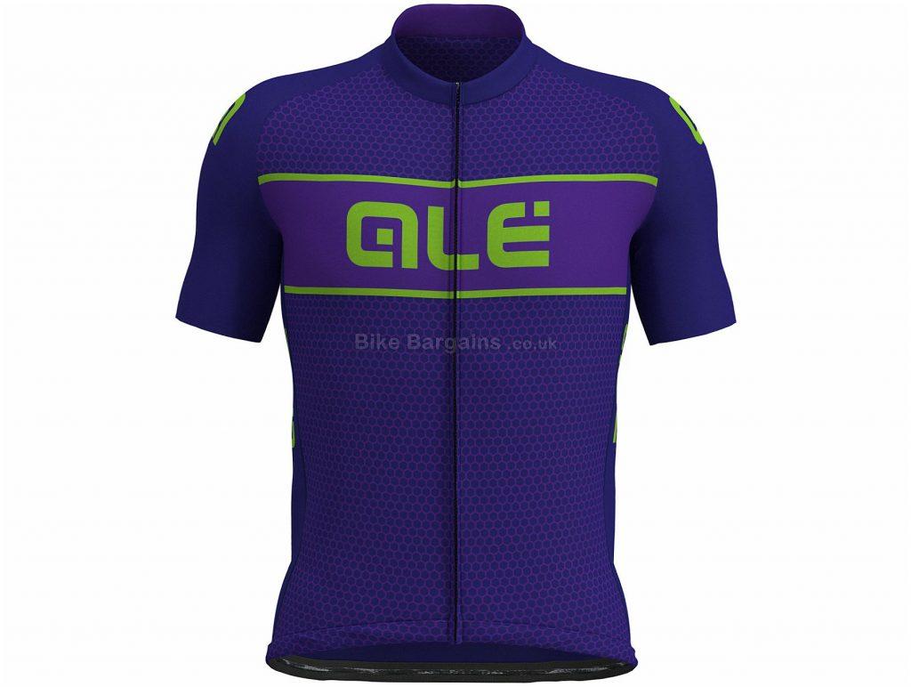 Ale Prime Hive Short Sleeve Jersey S,M, Purple