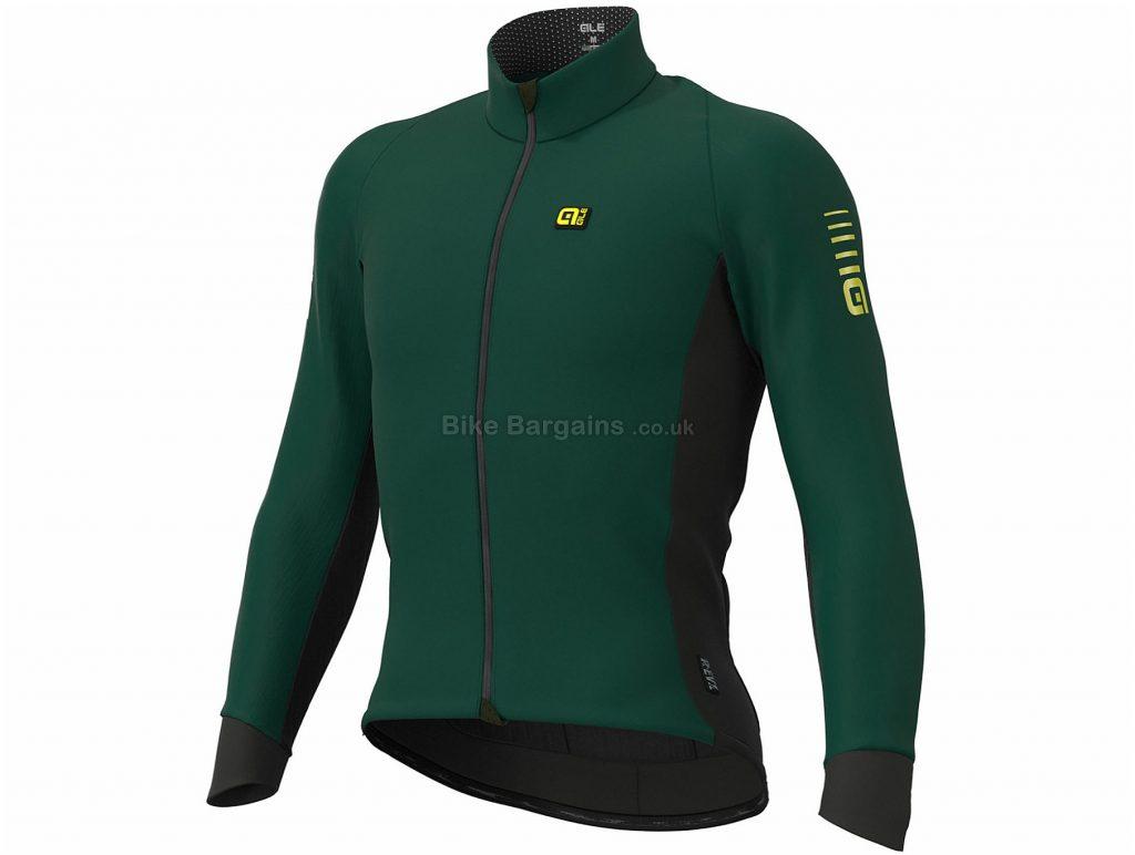 Ale Wind Race Jacket S, Green, Slim Racing Fit, Windproof, Long Sleeve, Men's, Polyester, Elastane, Polyamide