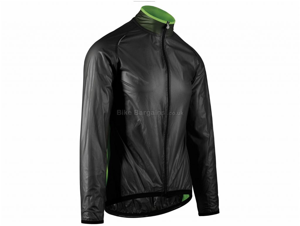 Assos ClimaJacket Mille GT Jacket S, Black, Lightweight, Packable, Long Sleeve, Men's, Polyester, Elastane
