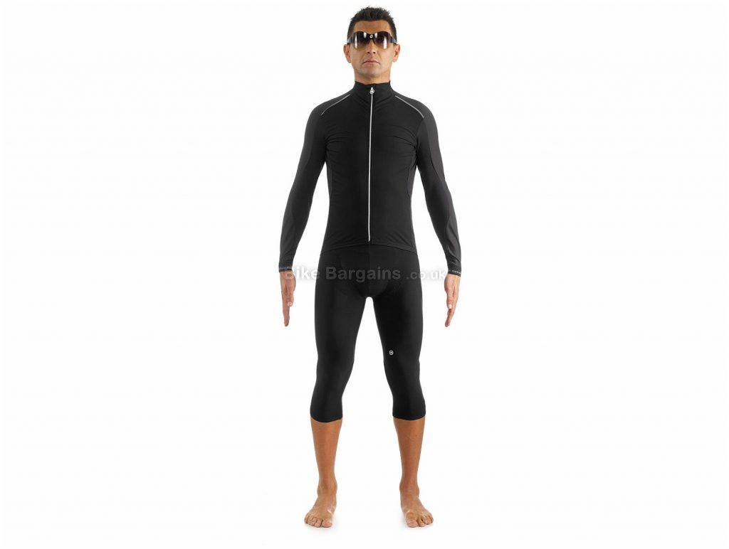 Assos IJ.Intermediate Jacket L, Black, Fast Drying, Men's, Long Sleeve, Polyester, Polyamide, Polyurethane, Elastane , Road