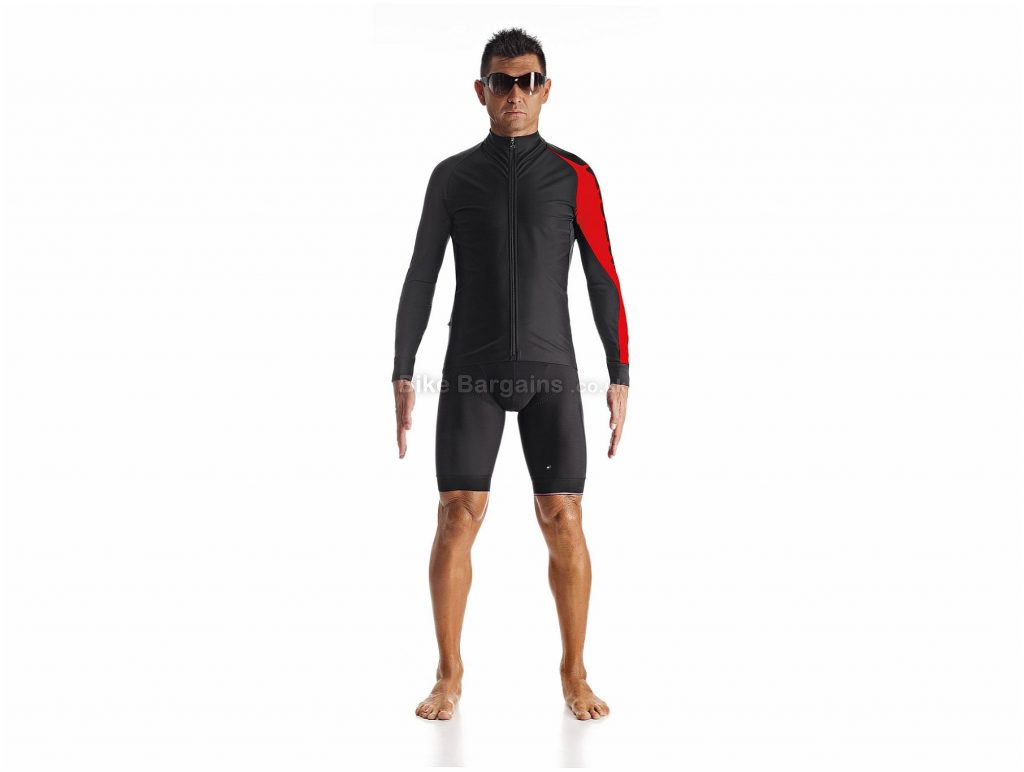 Assos IJ.Milleintermediate_evo7 Jacket XS, Red, Breathable And Water-Resistant, Men's, Long Sleeve, Polyamide, Neoprene, Elastane , Road