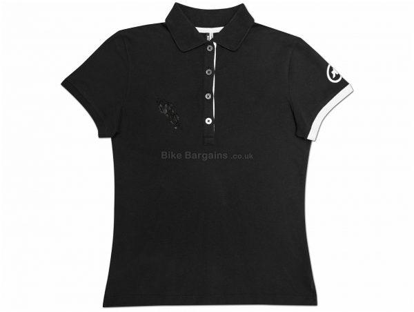 Assos Ladies Corporate Short Sleeve Polo Shirt L, Black, Casual Polo, Short Sleeve, Ladies, Cotton, Elastane