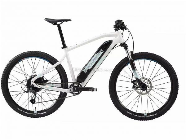 "B'Twin Rockrider E-ST 100 Ladies 27.5"" Electric Mountain Bike M,L, White, Black, Alloy Frame, 8 Speed, Disc Brakes, Single Chainring, 22.5kg, 27.5"" Wheels"