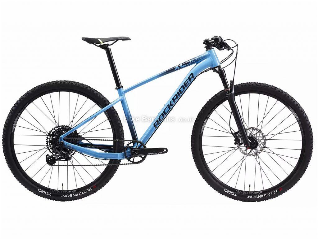 "B'Twin Rockrider XC 500 GX Eagle 29"" Mountain Bike M, Blue, Black, Alloy Frame, 12 Speed, Disc Brakes, Single Chainring, 11.3kg, 29"" Wheels"