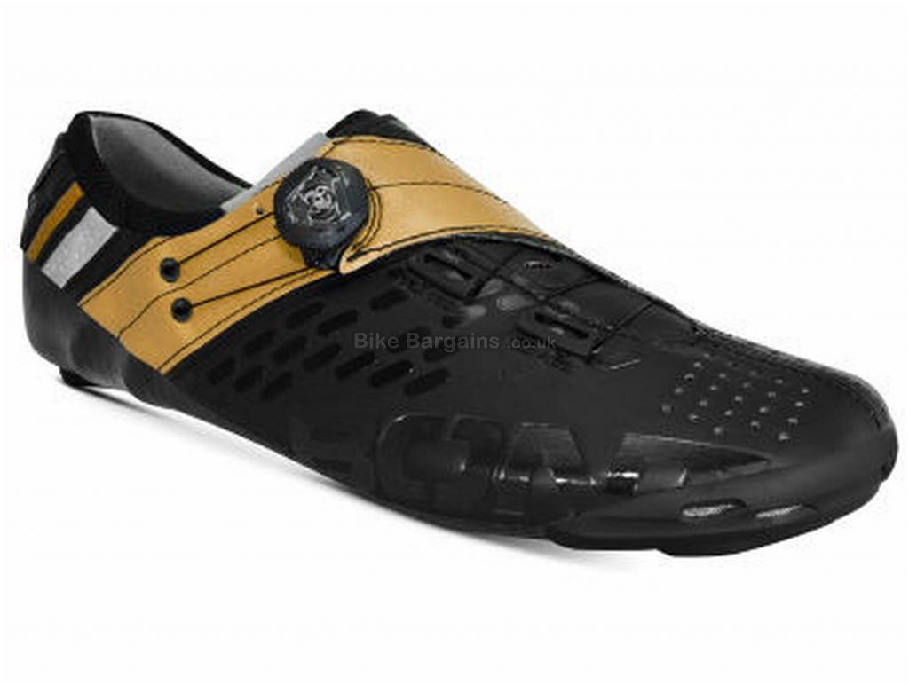 Bont Helix Road Shoes 36, Red, White, Black, Brown, Carbon Sole, Boa Closure, Road Usage