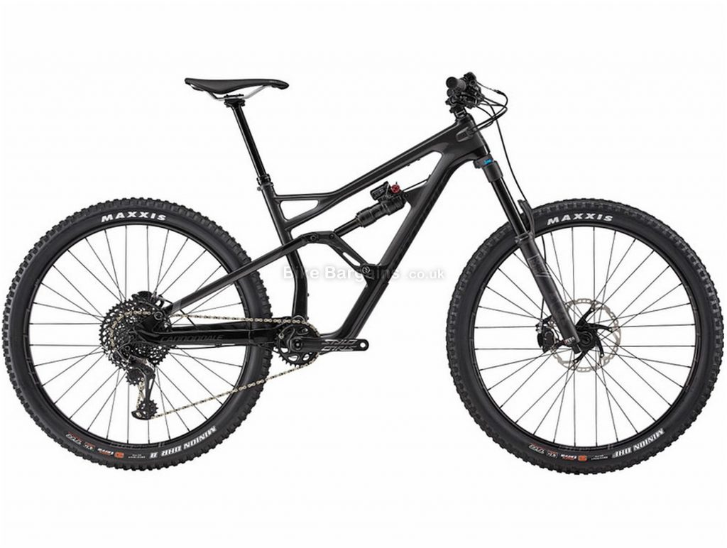 "Cannondale Jekyll Carbon 2 29 Full Suspension Mountain Bike 2019 S,M, Black, Carbon, Alloy, Full Suspension, Disc Brakes, 12 Speed, 29"", Men's, Single Chainring"