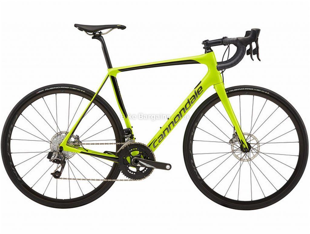 Cannondale Synapse Carbon Disc Red Etap Carbon Road Bike 2019 51cm, Yellow, Black, Carbon, Disc Brakes, 22 Speed, 700c, Men's, Double Chainring
