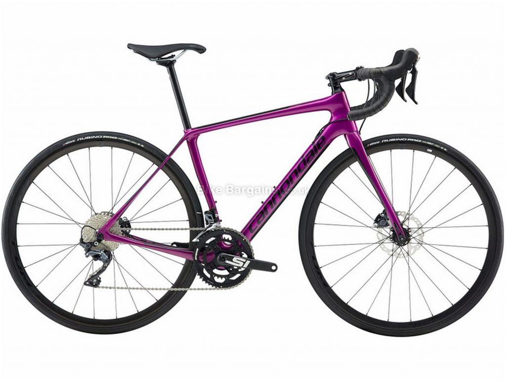Cannondale Synapse Carbon Disc Ultegra Carbon Road Bike 2019 44cm, Purple, Carbon, Disc Brakes, 22 Speed, 700c, Men's, Double Chainring