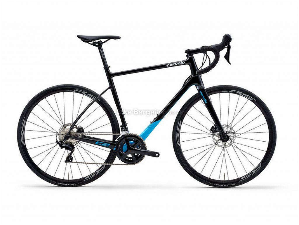 Cervelo C2 105 Carbon Road Bike 2019 51cm, Black, Blue, Carbon Frame, Disc Brakes, 22 Speed, Men's, 105 Groupset, 700c Wheels, Double Chainring