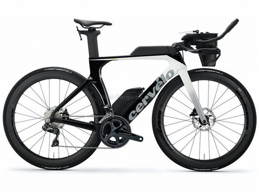 Cervelo P-Series Disc Ultegra Di2 Carbon Road Bike 2020 54cm, Black, Grey, White, Carbon Frame, Disc Brakes, 22 Speed, Men's, Ultegra Groupset, 700c Wheels, Double Chainring