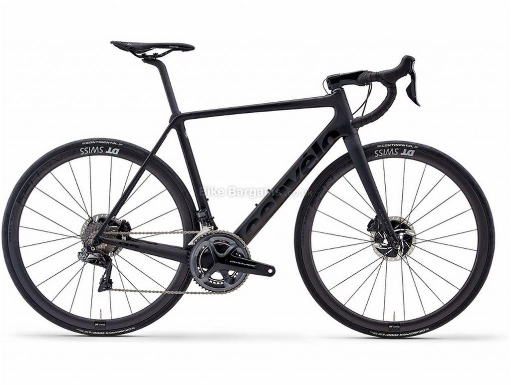 Cervelo R5 Disc Dura-Ace Di2 Carbon Road Bike 2020 51cm, Black, Carbon Frame, Disc Brakes, 22 Speed, Men's, Dura-Ace Groupset, 700c Wheels, Double Chainring