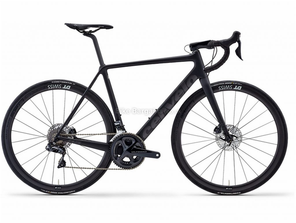 Cervelo R5 Disc Ultegra Di2 Carbon Road Bike 2020 51cm, Black, Carbon Frame, Disc Brakes, 22 Speed, Men's, Ultegra Groupset, 700c Wheels, Double Chainring