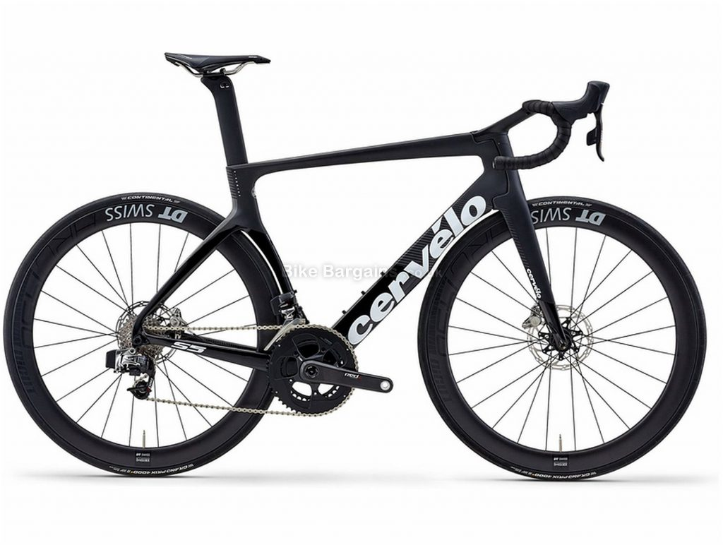 Cervelo S5 Disc Red Etap Carbon Road Bike 2019 54cm, 56cm, Black, Carbon, Disc Brakes, 22 Speed, 700c, Men's, Double Chainring