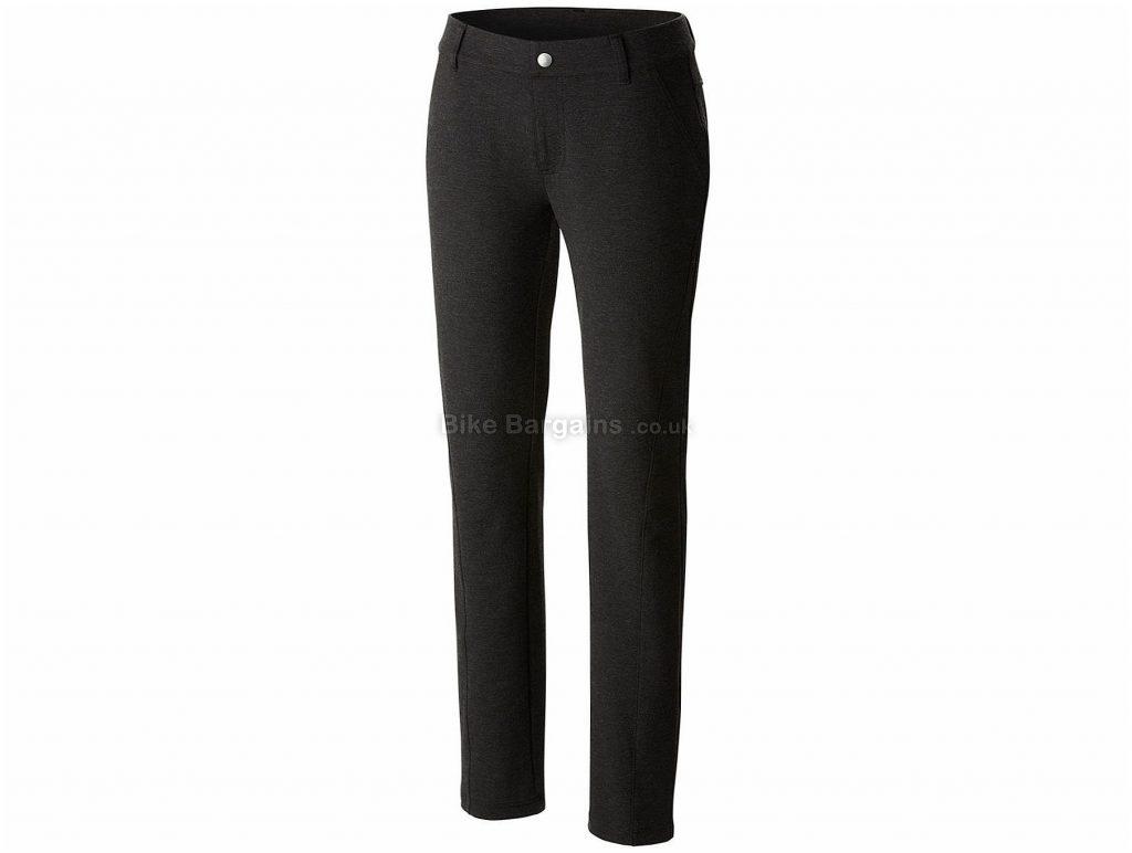Columbia Ladies Outdoor Ponte Trousers XL, Black, Slim Fit, Polyester, Viscose, Elastane