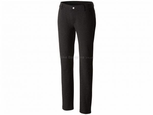 Columbia Ladies Outdoor Ponte Trousers XL, Black, Slim Fit, Polyester, Viscose, Elastane