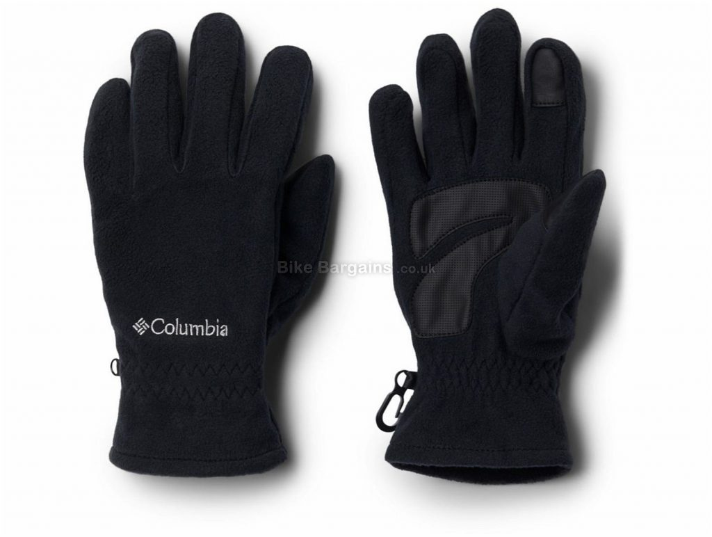 Columbia M Thermarator Gloves XL, Black, Thermal, Full Finger, Polyester