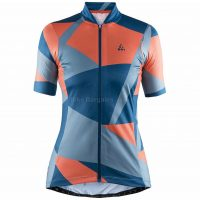 Craft Ladies Hale Graphic Short Sleeve Jersey