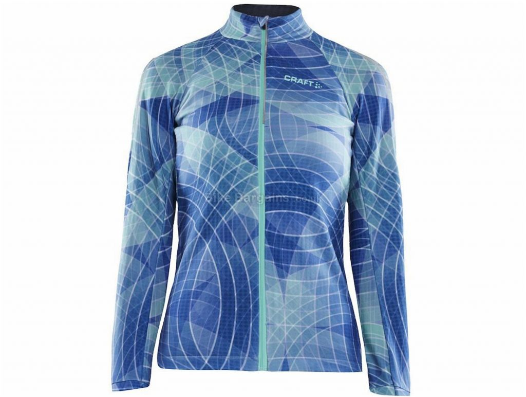 Craft Ladies Ideal Thermal Long Sleeve Jersey XS, Black, Red, Blue
