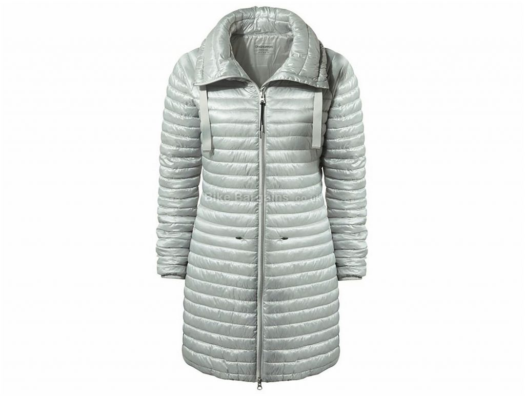 Craghoppers Ladies Mull Jacket 18, Grey, Insulated, Water Resistant, Long Sleeve, weighs 430g, Polyester