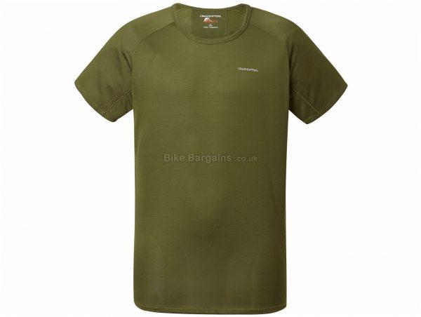 Craghoppers NosiLife Short Sleeve Base layer L, Grey, Breathable, Men's, Short Sleeve, 120g, Polyester