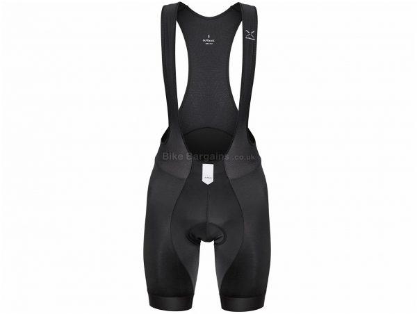 De Marchi Leggero Invisible Bib Shorts S,M,L,XL,XXL, Black, High Quality Lycra, Men's, Tight fit, Polyamide, Elastane