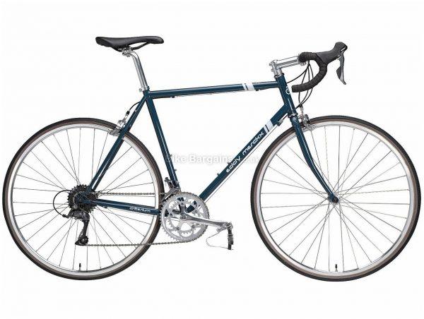 Eddy Merckx Criterium Claris Road Bike 2020 S, Blue, Steel Frame, Caliper Brakes, 16 Speed, Double Chainring, 700c Wheels