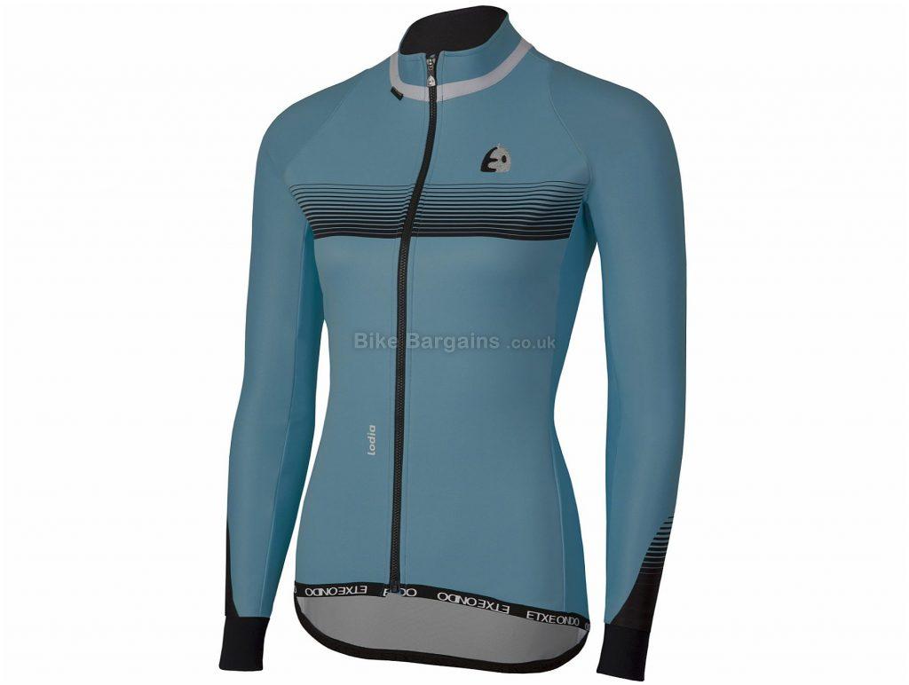 Etxeondo Ladies Lodia Windstopper Jacket XL,XXL, Blue, Windproof, Ladies, Long Sleeve, Polyester, Elastane