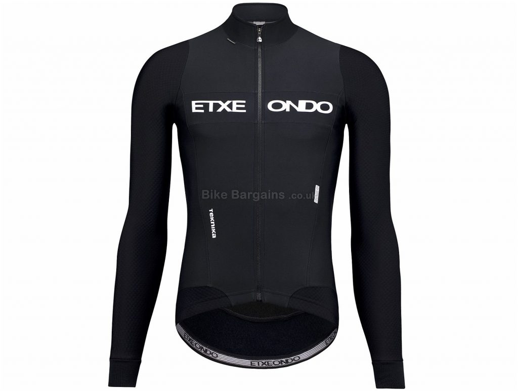 Etxeondo Teknika Jacket XXL, Red, Black, Thermal, Breathable, Men's, Long Sleeve, Polyester, Polyamide, Elastane