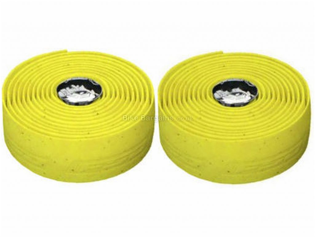 FSA Ultracork Road Bar Tape Yellow, One Size, Rubber, Gel, 61g