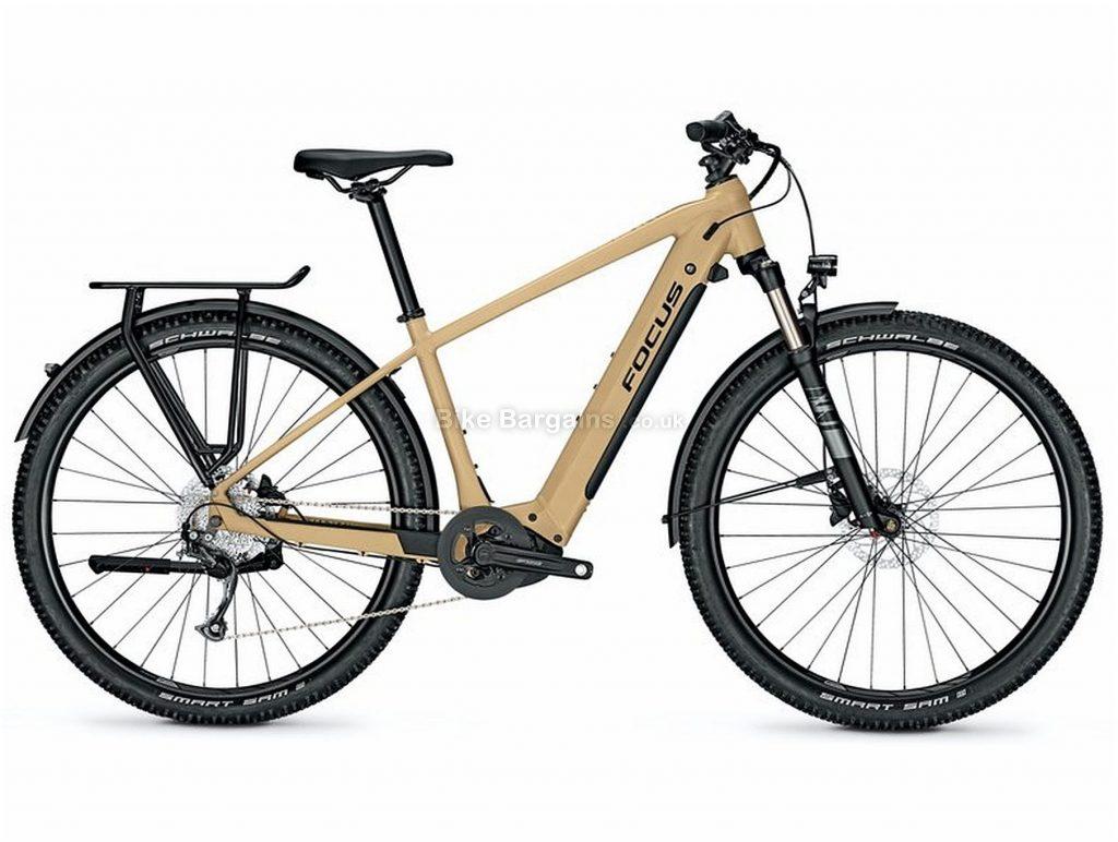 "Focus Aventura2 6.6 Alloy Electric Bike 2020 M,L, Brown, Black, Alloy Frame, Disc Brakes, 9 Speed, Men's,  , 29"" Wheels, Single Chainring"