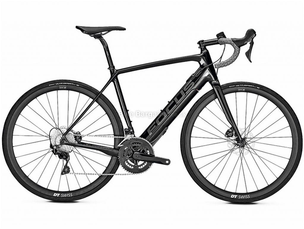 Focus Paralane2 9.6 Carbon Electric Bike 2020 60cm, Black, Carbon Frame, Disc Brakes, 22 Speed, Men's, 105 Groupset, 700c Wheels, Double Chainring