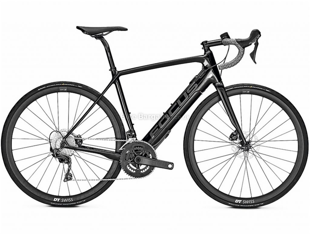 Focus Paralane2 9.7 Carbon Electric Bike 2020 51cm, Black, Carbon Frame, Disc Brakes, 22 Speed, Men's, Ultegra Groupset, 700c Wheels, Double Chainring
