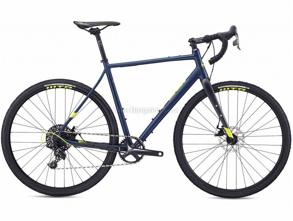 Fuji Jari 1.3 Adventure Gravel Bike 2020 49cm, Blue, Alloy Frame, Disc Brakes, 11 Speed, Single Chainring, 700c Wheels, 10.08kg