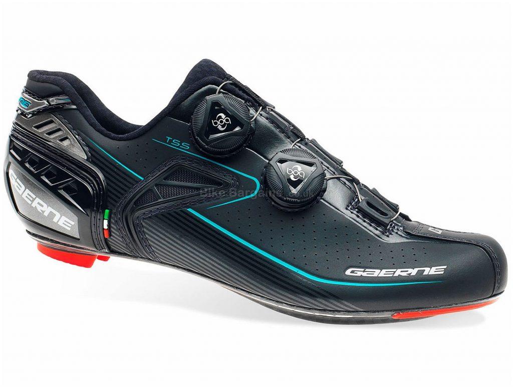 Gaerne Ladies Carbon Chrono+ Road Shoes 41, Black, Boa fastening