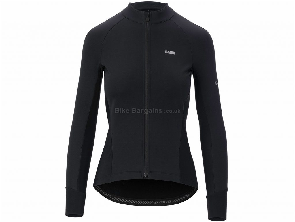 Giro Ladies Chrono Pro Windbloc Long Sleeve Jersey L, Black, Long Sleeve