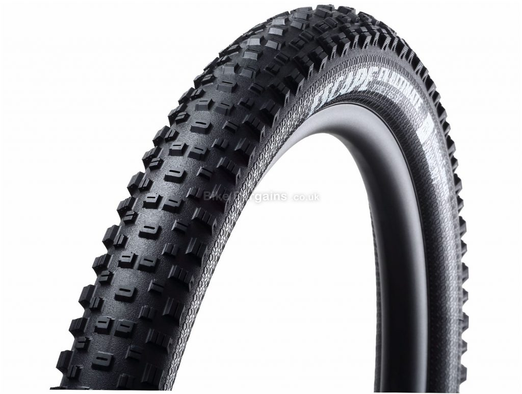 "Goodyear Escape EN Ultimate Tubeless Folding MTB Tyre 27.5"", 2.6"", Black, 1.026kg, Kevlar, MTB"