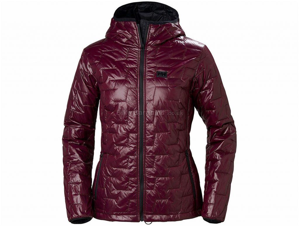 Helly Hansen Ladies Lifa Loft Hood Insulator Jacket XL, Red, Lightweight, Long Sleeve, weighs 350g, Polyester