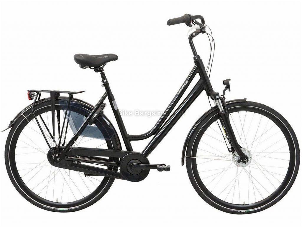 "Laventino Glide 8 Ladies City Bike 21"",22"", Green, Alloy Frame, 8 Speed, Single Chainring, 26"" Wheels, 18.2kg"