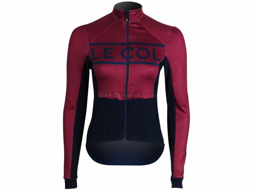 Le Col Ladies Sport Jacket L, Red, Blue, Long Sleeve, Polyamide, Ladies