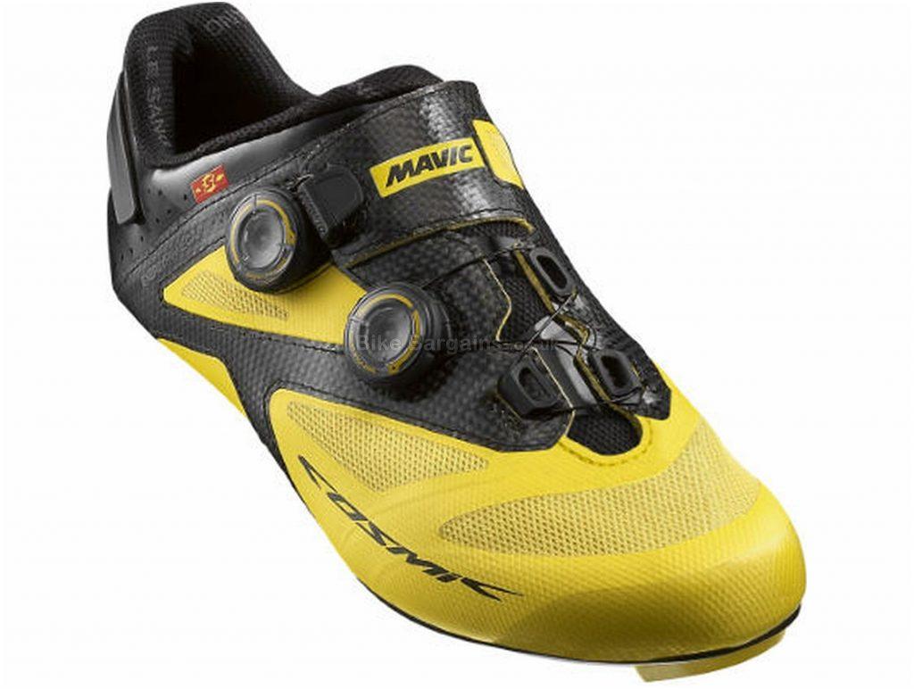 Mavic Cosmic Ultimate II Road Shoes 37, White, Black, Carbon Sole, Boa Closure, Road Usage
