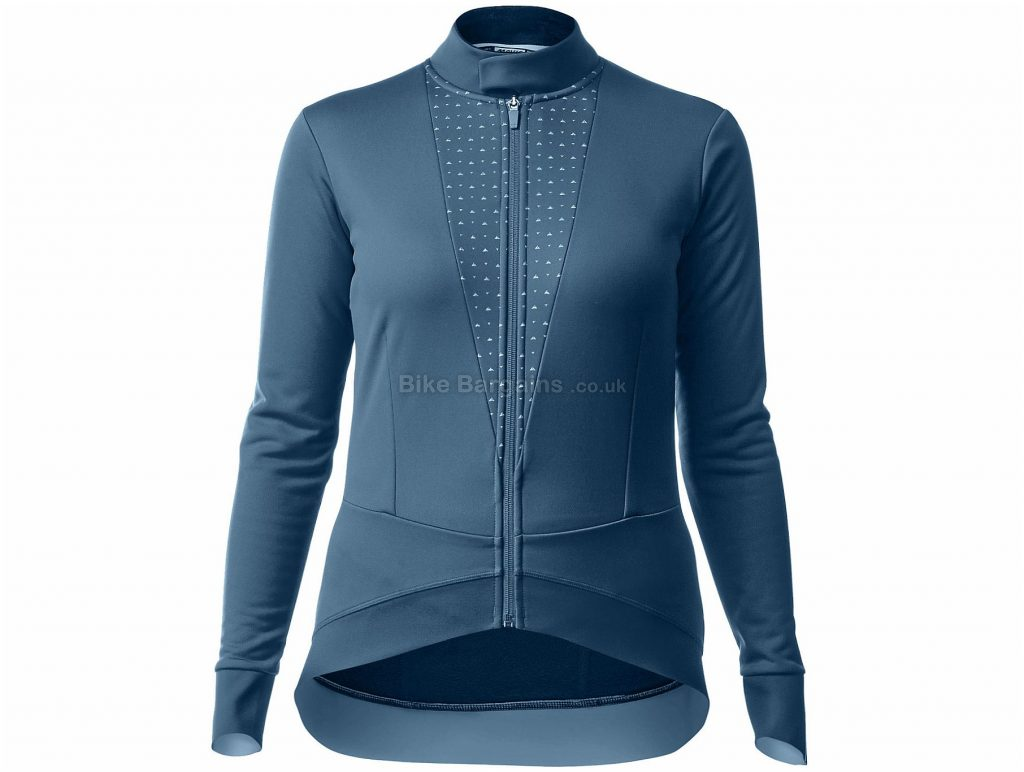 Mavic Sequence Thermo Ladies Jacket XS, Blue, Red, Long Sleeve