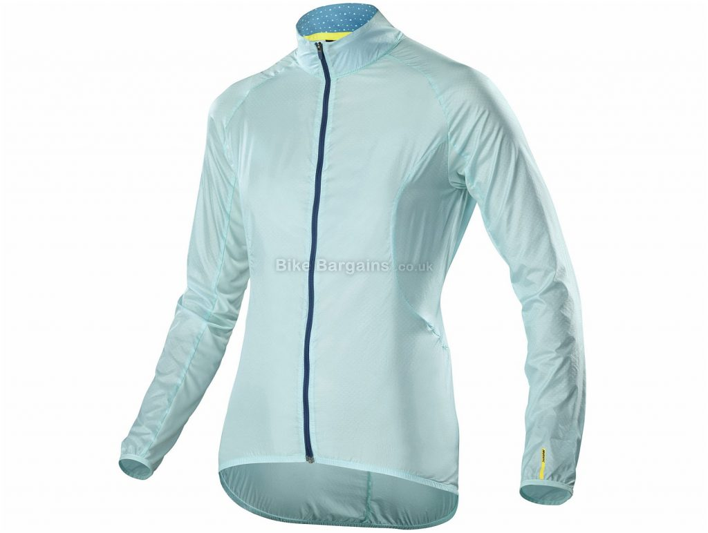 Mavic Sequence Wind Jacket L, Blue, Windproof, Water-Resistance, Long Sleeve, Men's, 55g, Polyamide, Polyester