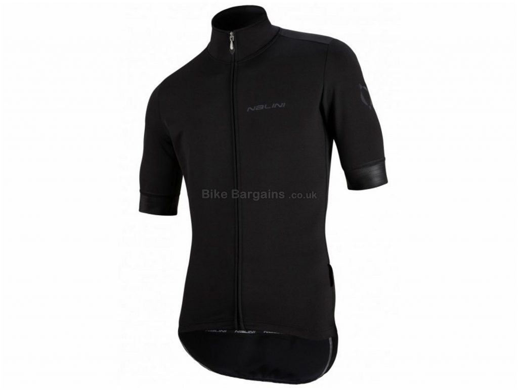 Nalini Orione Windproof Short Sleeve Jersey M, Black, Water Resistant Treatment, Breathable, Short Sleeve, Men's, Polyester, Elastane, Polyamide