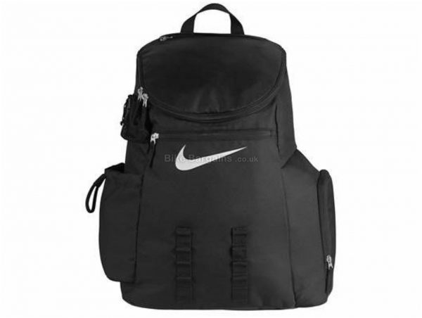 Nike Team Deck Backpack 32 Litres, Blue, Nylon, Road, MTB