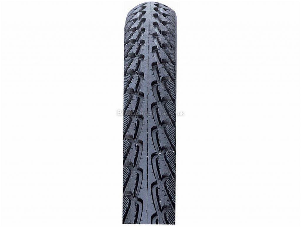 Nutrak Skinwall Hybrid Commuter Tyre 700c, 35c, Black, Steel, Road