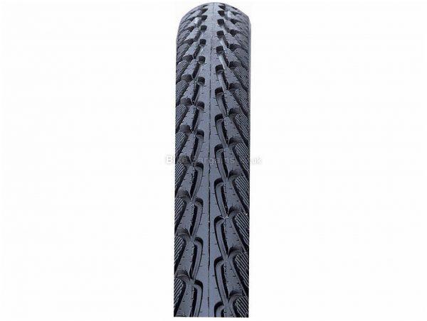 Nutrak Skinwall Hybrid Commuter Tyre 700c, 38c, Black, Steel, Road