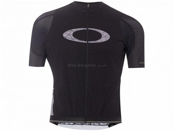 Oakley Graphene Aero Short Sleeve Jersey XS, Black, Short Sleeve