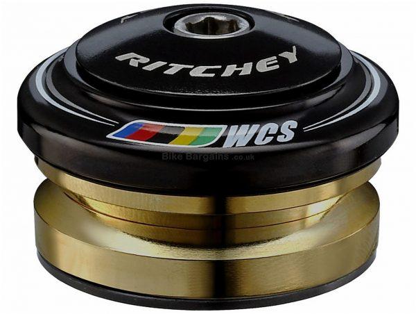 Ritchey Logic Zero WCS Drop-In Headset One Size, Black, Alloy, Alloy, Steel, 71g