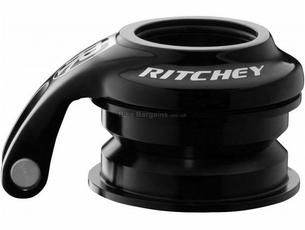 Ritchey Pro Logic Zero Cyclocross Headset One Size, Black, Alloy, Alloy, Steel, 93g.